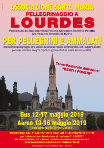 volantino Lourdes 2019